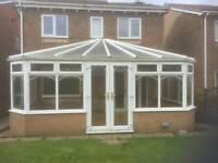 Upvc conservatory 580cm × 330cm