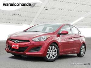 2013 Hyundai Elantra GT GL One Owner. Automatic, A/C and More!