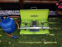 Outback 126 Portable Camping Stove and Gas Bottle