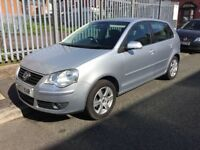 2008 volkswagen polo , only 35,000 miles, 5 door, full service carried out (2005 2006 2007 2009 vw