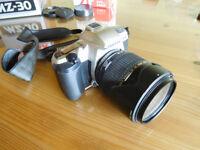 Pentax MZ30 Film Camera and Tamron AF 28-300mm Ultrazoom XR F/3.5-6.3 Lens