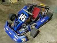 Go kart zip cart 60cc cadet kids