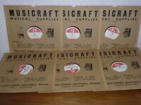 """Collection of 12 and 10 inch records 78rpm. 12"""" all in card sleeves. 10"""" mostly in paper sleeves"""