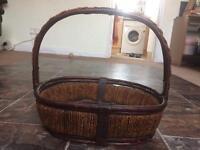 Beautiful hand made traditional basket