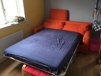 Premium quality sofa bed originally shipped from workshop in Italy