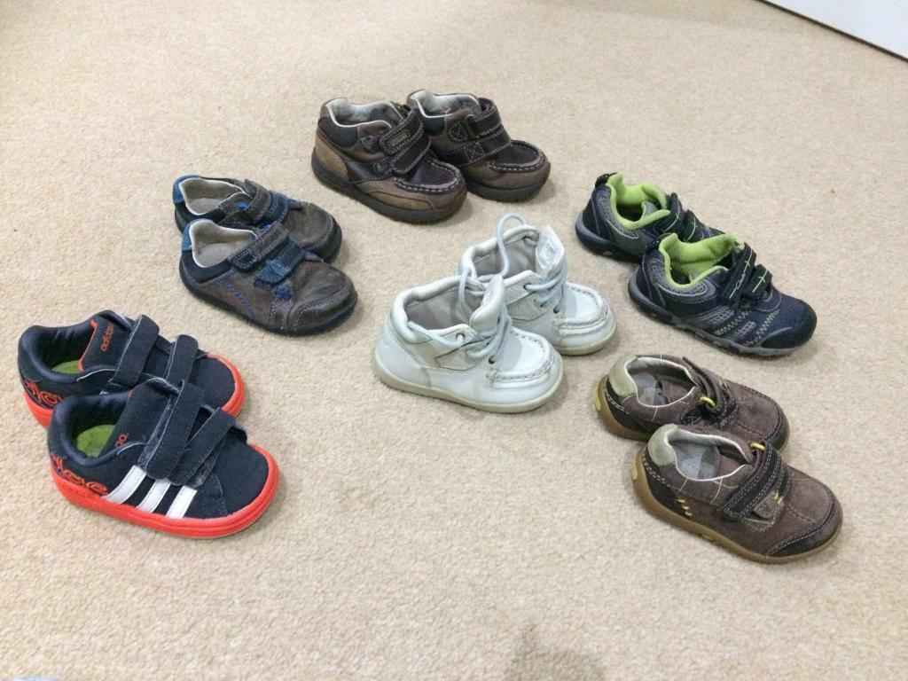 Boys toddler shoes size 3-4,5