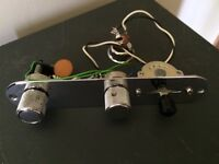 Fender Telecaster S1 switching controls complete