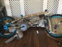"""Brand new bike blue bmx 18"""""""