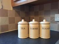 Tea coffee and sugar set
