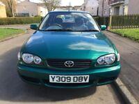 Toyota Corolla 1.4 GS 3dr 2001