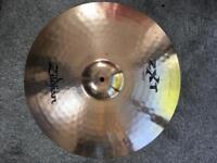 Set of Zildjian zxt cymbals