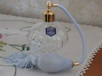 Stuart Crystal Shaftesbury Amy Perfume Atomiser