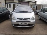 2006 CITROEN XSARA PICASSO 1.6 HDI EXCLUSIVE DIESEL 12 MONTHS MOT SERVICE HISTORY