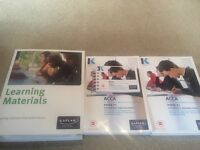 £25 - ACCA Kaplan P1, EXAM KIT, POCKET NOTES, COMPLETE TEXT & LEARNING MATERIALS .
