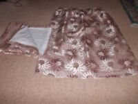 "Curtains 53"" long x 44 "" wide in very good condition"