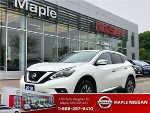 2018 Nissan Murano SV AWD-Navi,Sunroof,Alloys,Clean carproof!