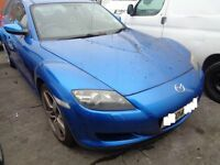 BREAKING  --- Mazda RX8 231Ps 2.7L Petrol Manual Coupe  228BHP -- 2004