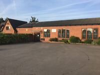 Lovely office to rent in Kirby Muxloe suit 2 - 10 people. Perfect location with superb parking
