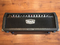 Koch Powertone II 120w Guitar Amp Head - 3 footswitchable channels similar to Marshall / Mesa Boogie