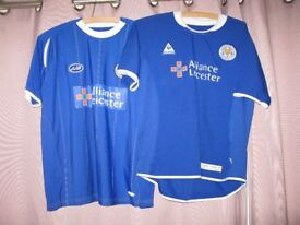 Leicester City Shirts x 2
