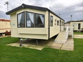 3 Bed Static Caravan & Decking   Presthaven, North Wales   Inc 2018 Site Fees   Dog Friendly Beaches