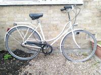 """Gerdino 21"""" - Vintage, Belgian Ladies Town Bike - FREE DELIVERY IN LONDON"""