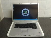 GAMING LAPTOP DELL INSPIRON 9300 2GB RAM 80GB HDD GEFORCE 256MB