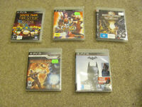 Bundle of PS3 Games (19 in total - can buy individual games)
