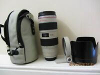 CANON 70-200MM 2.8 IS L lens