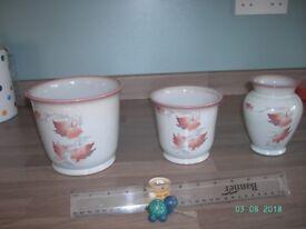 Denby twilight pottery set.
