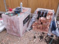 1 and a half pallets of rustic bricks