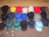 50 x hats/baseball caps **All Brand New**