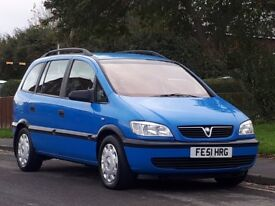 Vauxhall Zafira 1.8 i 16v Comfort 5dr£899 p/x welcome 7SEATER,AUTOMATIC,FULL SERVICE