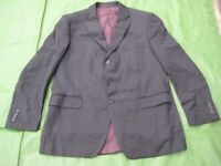 Charcoal Grey Marks and Spencer Woolen Suit for ONLY £15.00