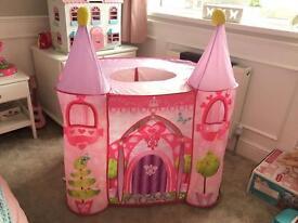 ELC pop up princess castle tent