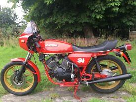Moto morini classic Italian motorcycle