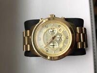 Men's Michael Kors Gold plated watch
