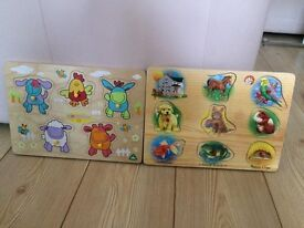 Melissa & Doug and ELC Wooden Animal Sound Puzzle only £6 Wow Bargain