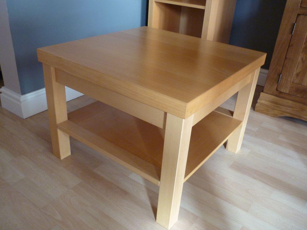 Next beech wood effect coffee table in blythe bridge