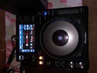 Pioneer XDJ 1000 (mk1) X 2 + Reloop RMX 22i + Alessi Studio Speakers