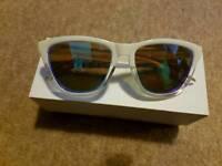 Hawkers white sunglasses