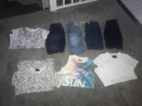 Bundle Of boys summer clothes age 8-9