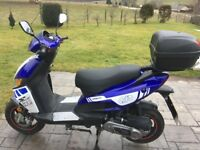 Motorini GP 50 1year old 2 year MOT 1 owner