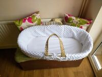 brand new large moses basket