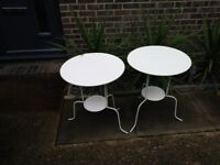 2 x Occasional Tables £15.00 the pair