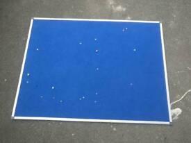 NOBO large blue notice board