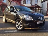NISSAN QASHQAI 2008 1.5 DIESEL TEKNA FULL SERVICE HISTORY LOW MILES 1 OWNER LEATHER PANROOF