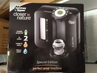 BLACK PERFECT PREP. Tommee Tippee. Boxed in great condition.