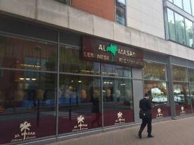 Waiter & Waitress Wanted at Al Masar Lebanese Restaurant – London