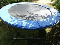 8 ft Plum Trampoline + Cover £30